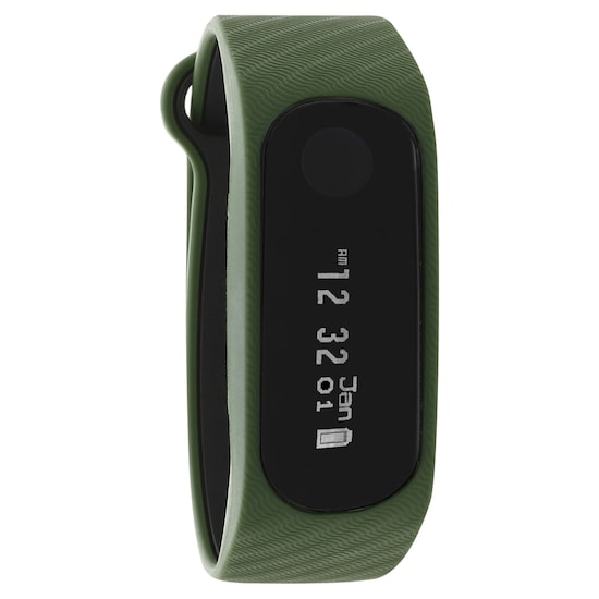 Reflex 2 0 Smart Band in Military Green with Charcoal Black Accent