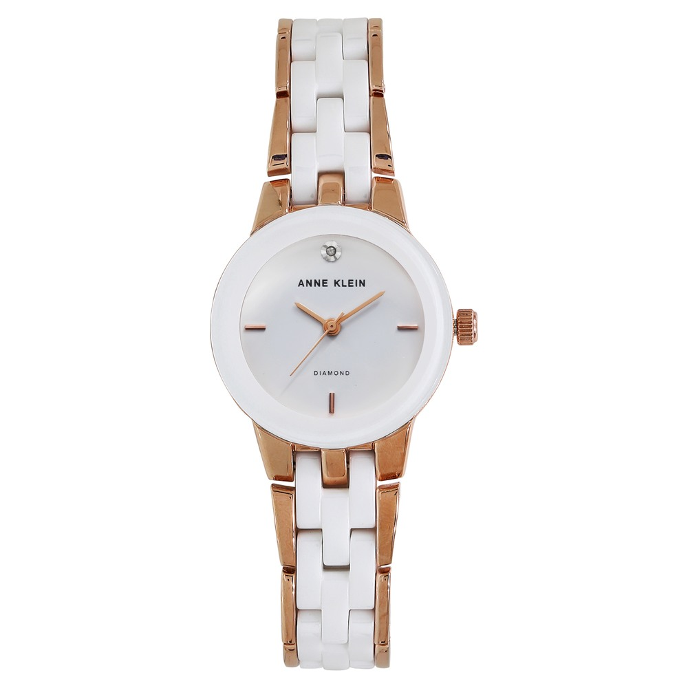 8fae1a0be Buy Anne Klein White Round Dial Ceramic Strap Analog Watches For Women  AK1610WTRG Buy Online at Best Price in India : Titan.co.in | Titan
