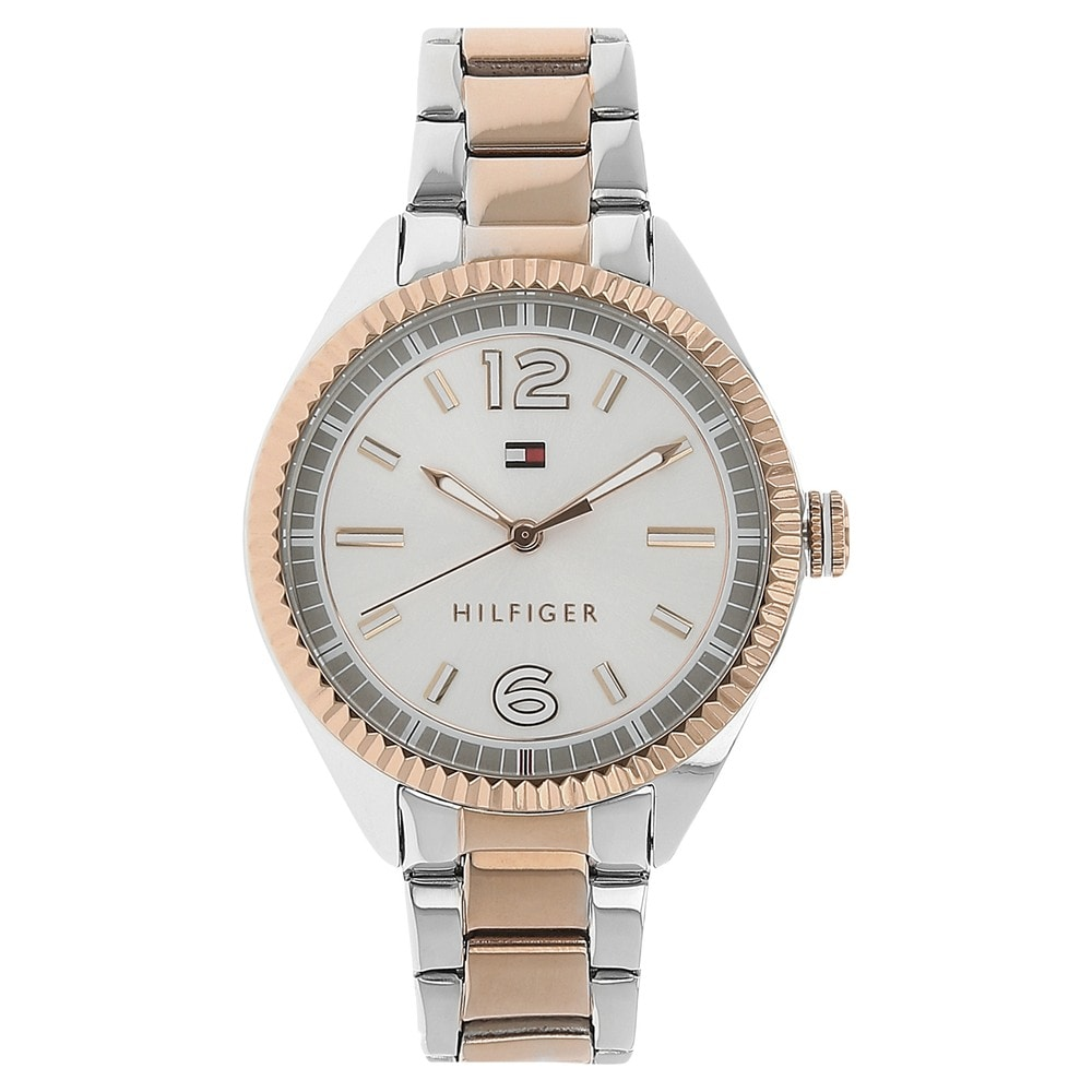 c73b0d08 Buy Tommy Hilfiger Silver Round Dial Metal Strap Analog Watches For Women  NATH1781148 Buy Online at Best Price in India : Titan.co.in | Titan
