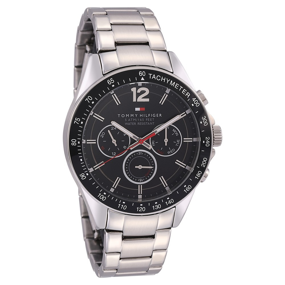 57618e87d2801e Buy Tommy Hilfiger Black Round Dial Metal Strap Analog Watches For Men  NATH1791104 Buy Online at Best Price in India   Titan.co.in