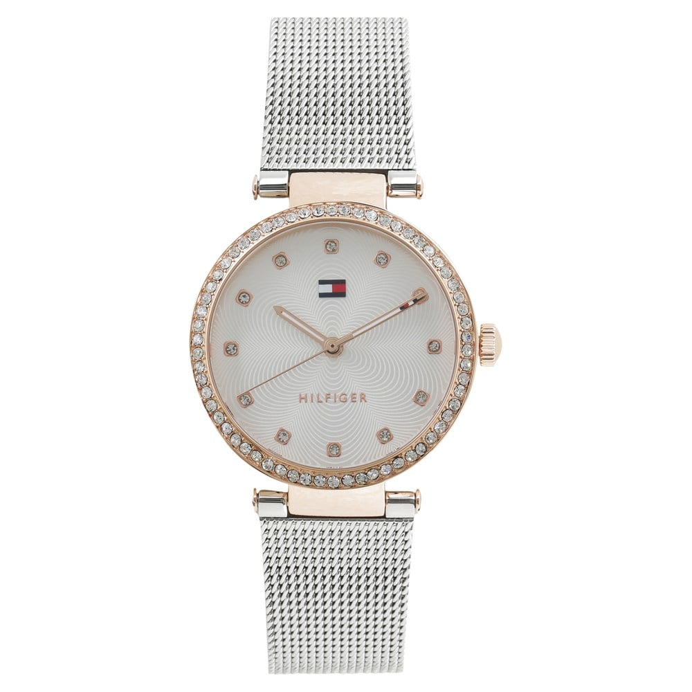 5cf9a01679d2 Buy Tommy Hilfiger Silver Round Dial Stainless Steel Strap Analog Watches  For Women TH1781863 Buy Online at Best Price in India   Titan.co.in