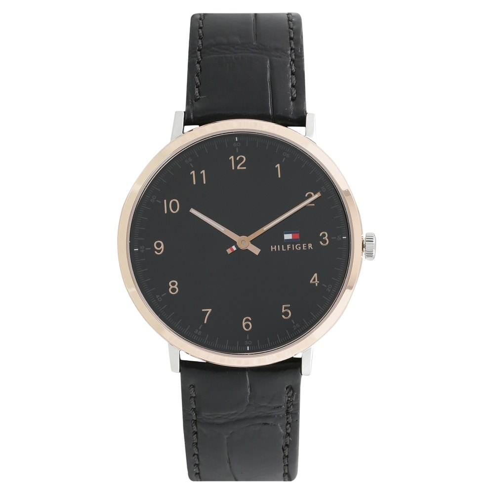 c8cad3427 Buy Tommy Hilfiger Black Round Dial Leather Strap Analog Watches For Men  TH1791339J Buy Online at Best Price in India : Titan.co.in | Titan