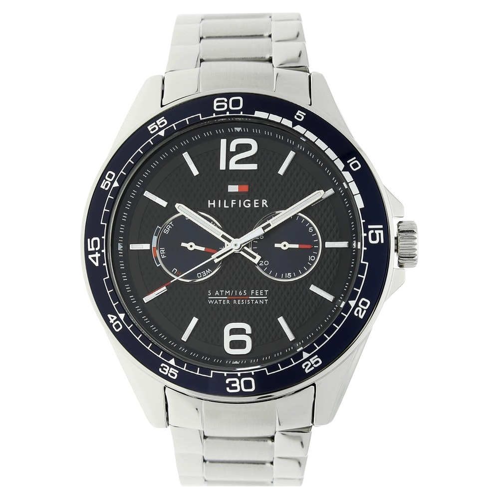 30b31bf1 Buy Tommy Hilfiger Blue Round Dial Stainless Steel Strap Multifunction  Watches For Men TH1791366 Buy Online at Best Price in India : Titan.co.in    Titan