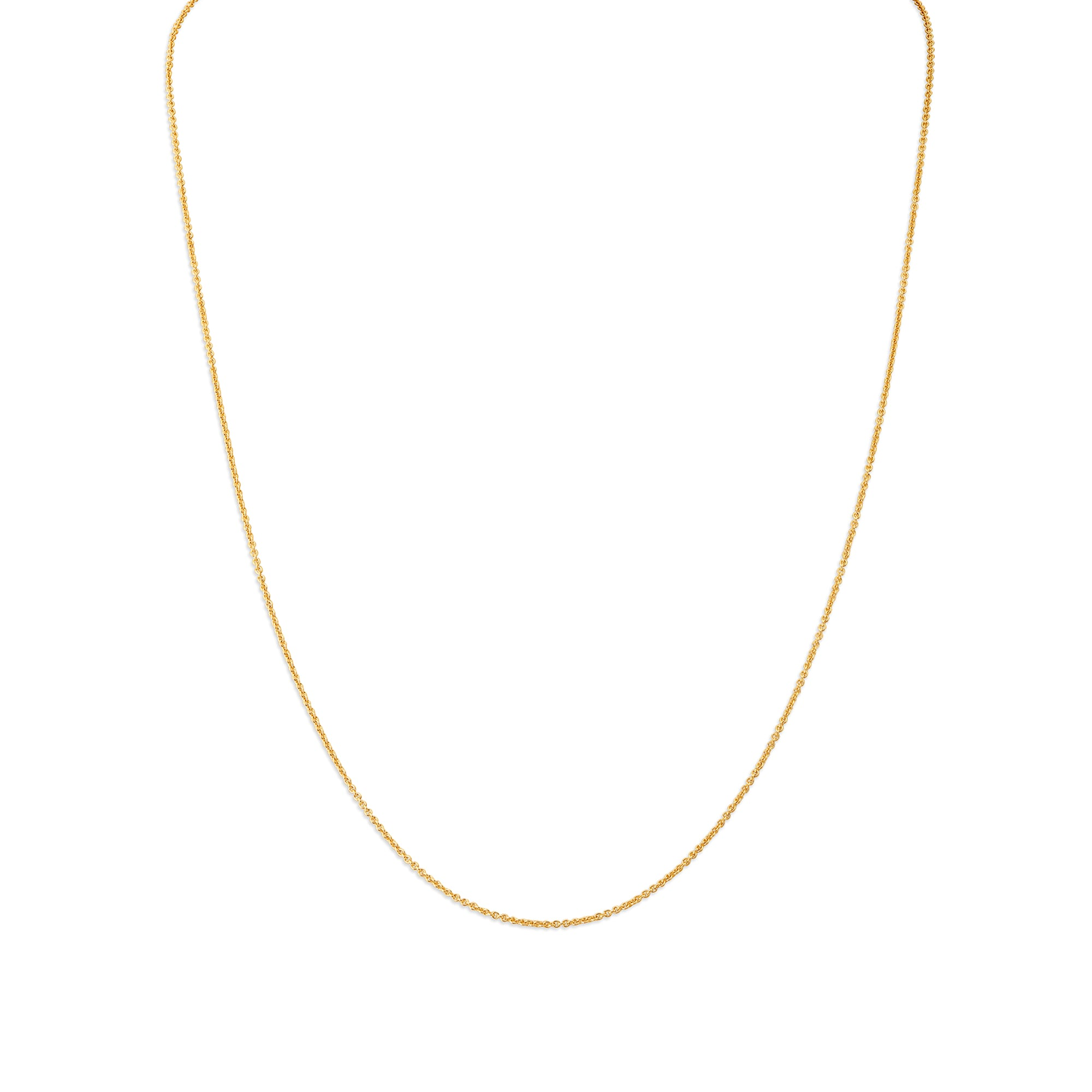 861d377b94212 Mia by Tanishq 14KT Yellow Gold Rolo Chain
