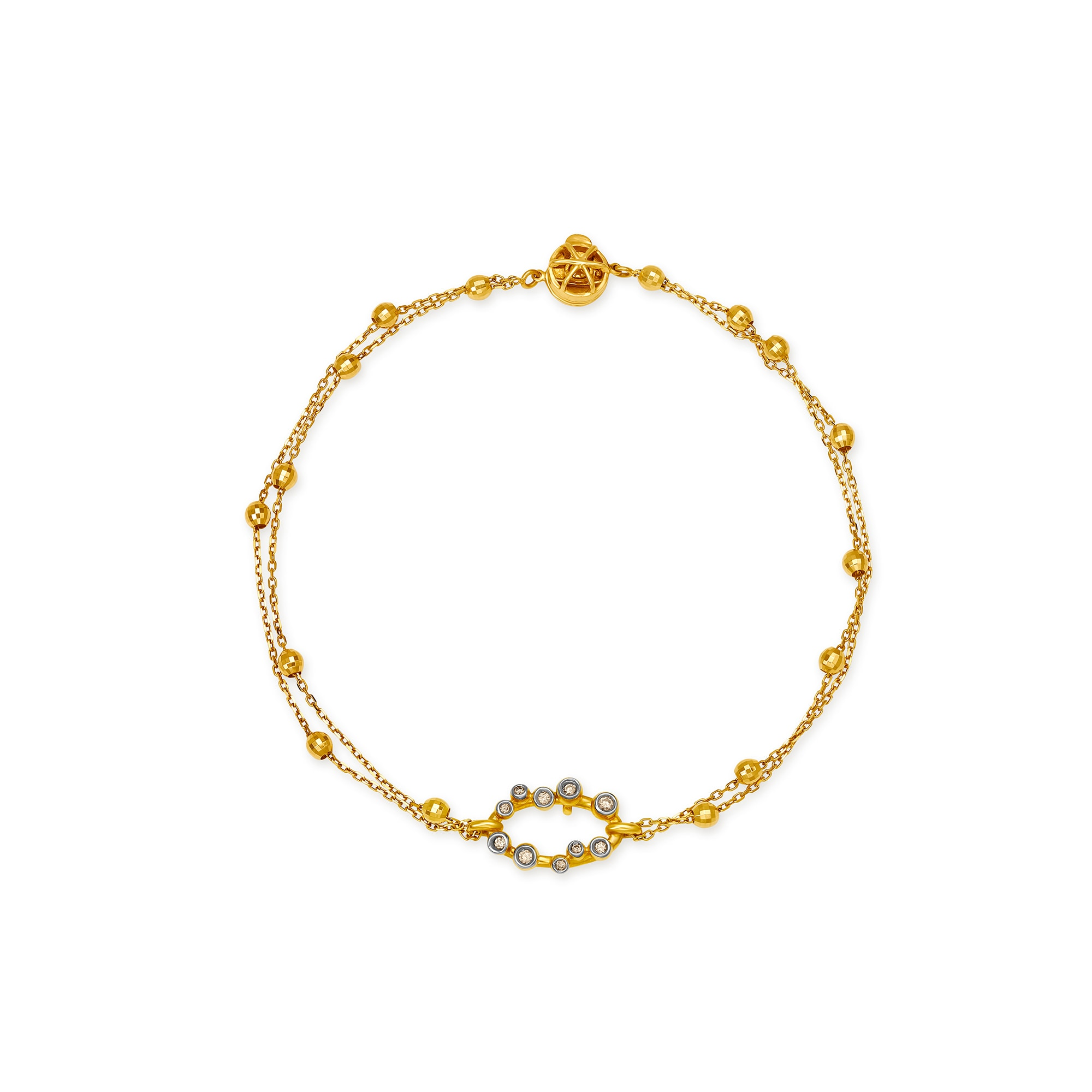 9852fdb62e8b2 Mia Everyday Essentials by Tanishq 14KT Yellow Gold Bracelet