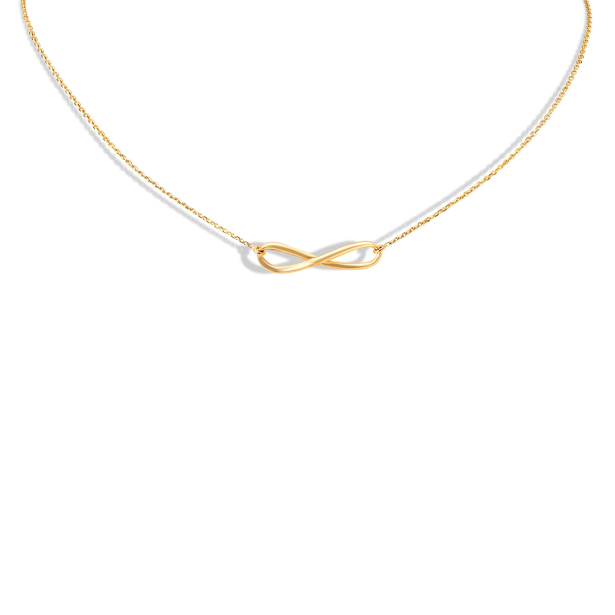 Mia by Tanishq Friends of Bride 14KT Yellow Gold Necklace   Mia