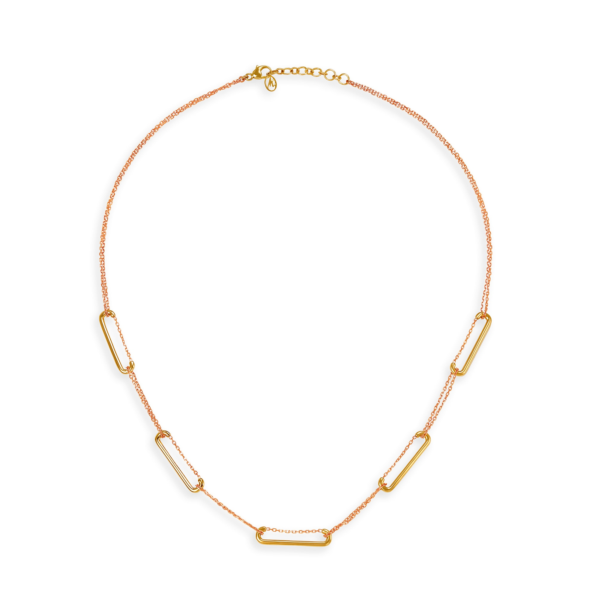 Mia by Tanishq Friends of Bride 14KT Yellow Gold Necklace | Mia