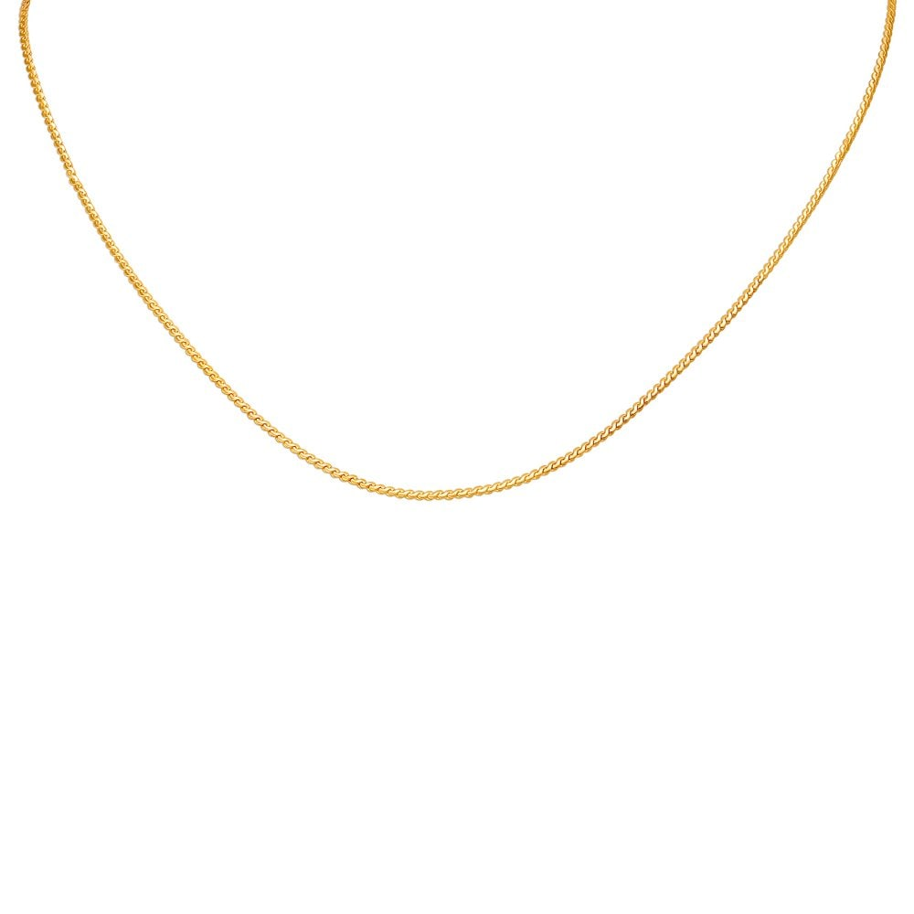 Gold Chains Buy Gold Chains Online In India 100 Gold Chains Design By Tanishq