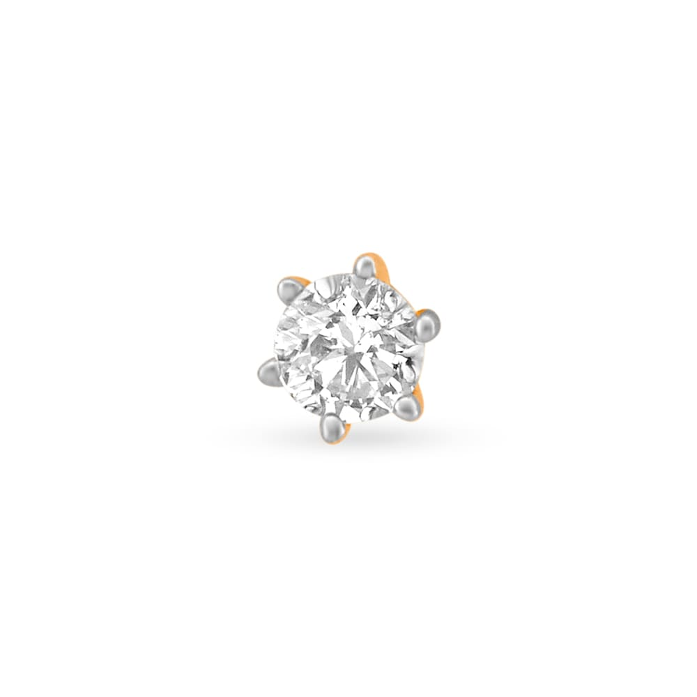 Nose Ring Buy Diamond Nose Ring Online Latest Diamond Nose Pin Designs At Tanishq