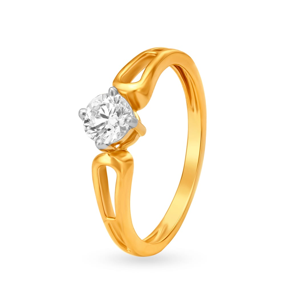 Buy Diamond Rings Online Latest Gold And Diamond Finger Ring