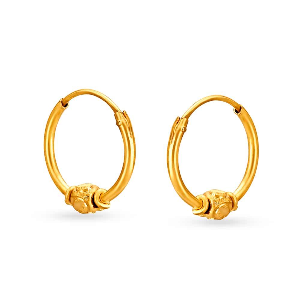 Gold Jhumka Earrings Kalyan Jewellers With Price