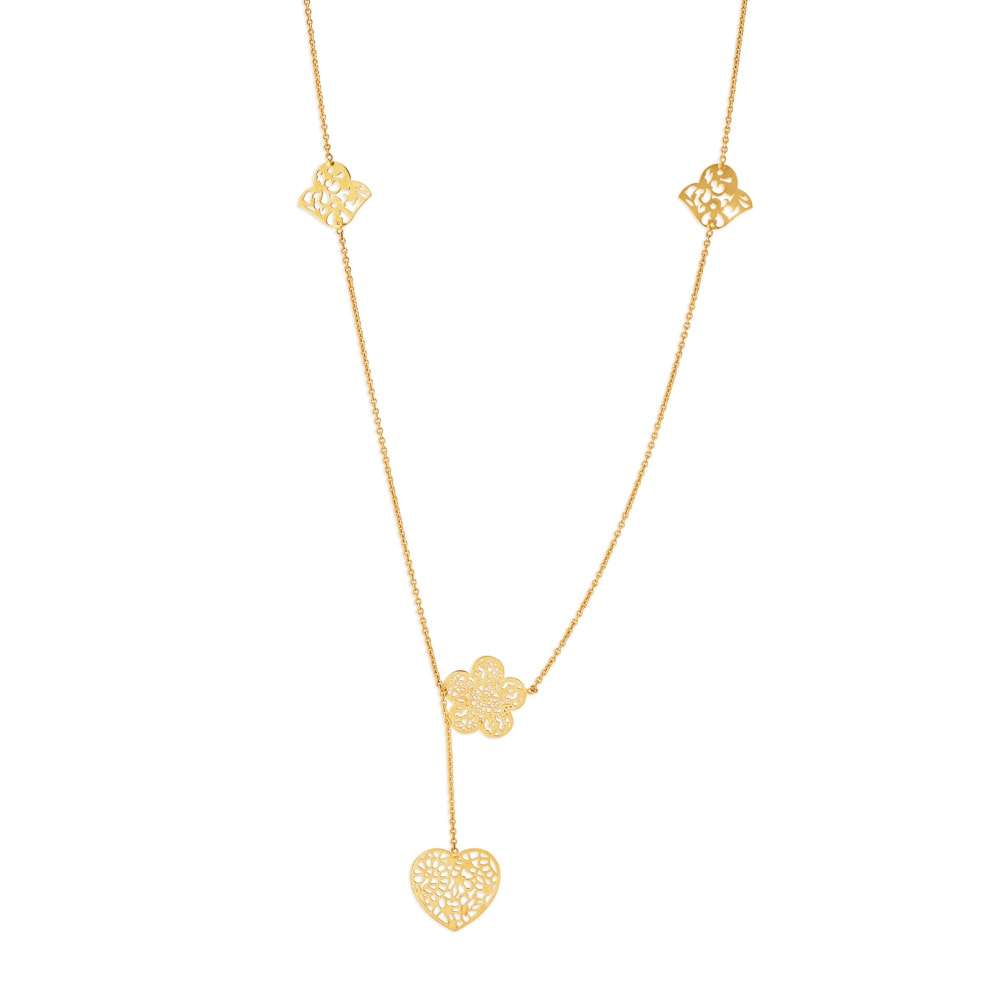 18 Karat Gold Chain Tanishq,Designer Tile And Stone