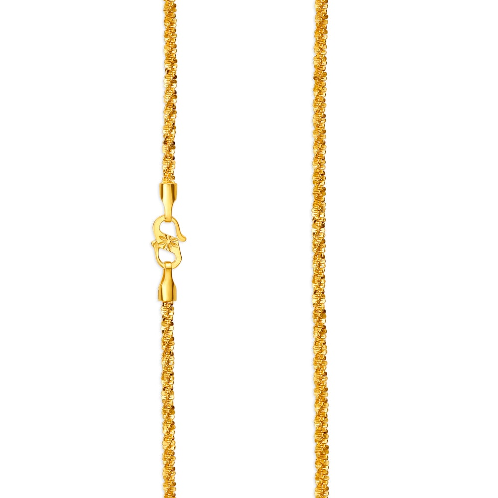 22 Karat Gold Chain Tanishq,Designer Tile And Stone