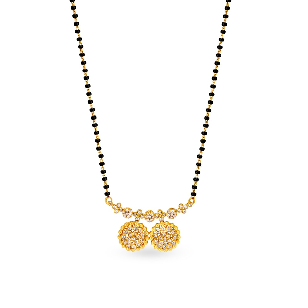 Tanishq Gold Pendant Set Designs With Price – images free