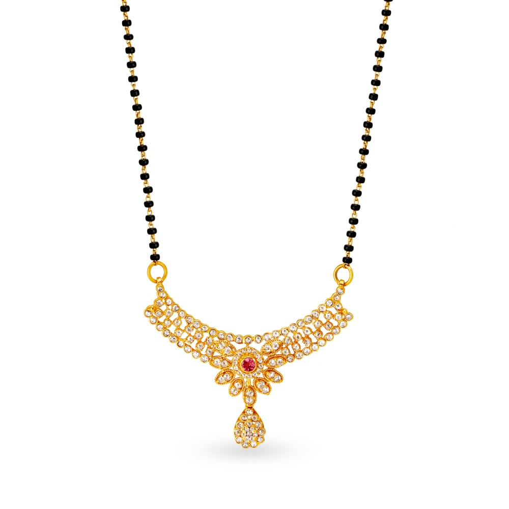 Buy Gold And Diamond Mangalsutra Online Shop Latest