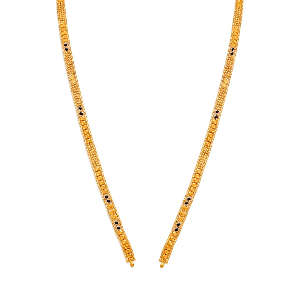 Buy Gold Mangalsutra Online Latest Mangalsutra Designs At Tanishq