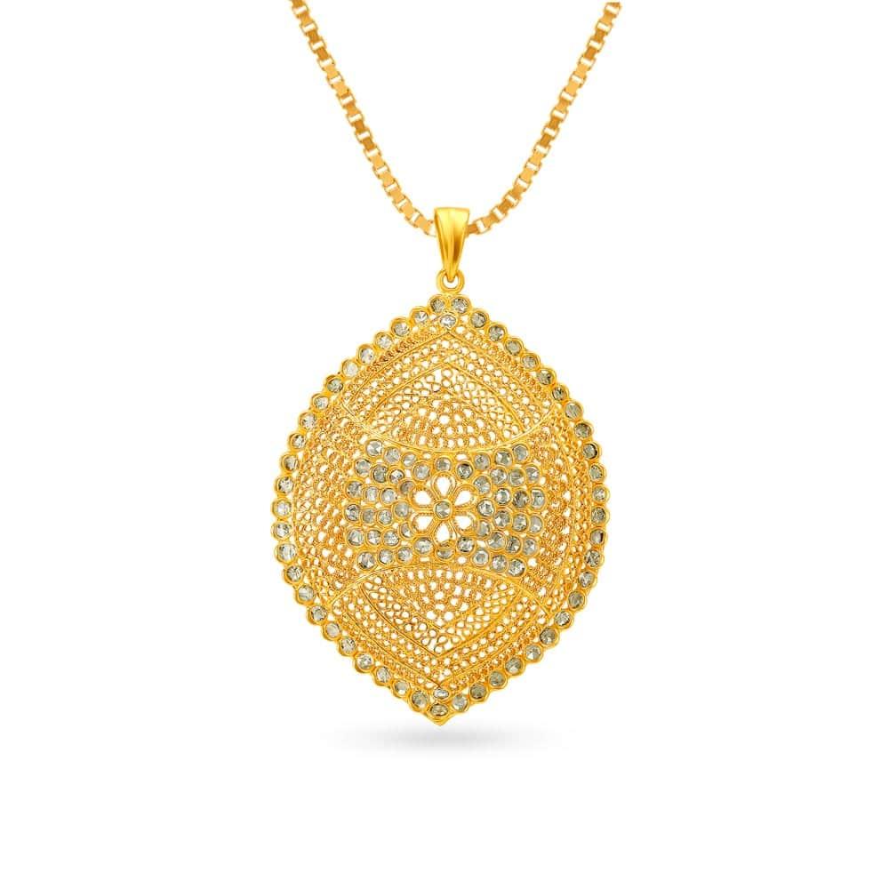 839 Latest Gold & Diamond Pendant Designs Online at Tanishq