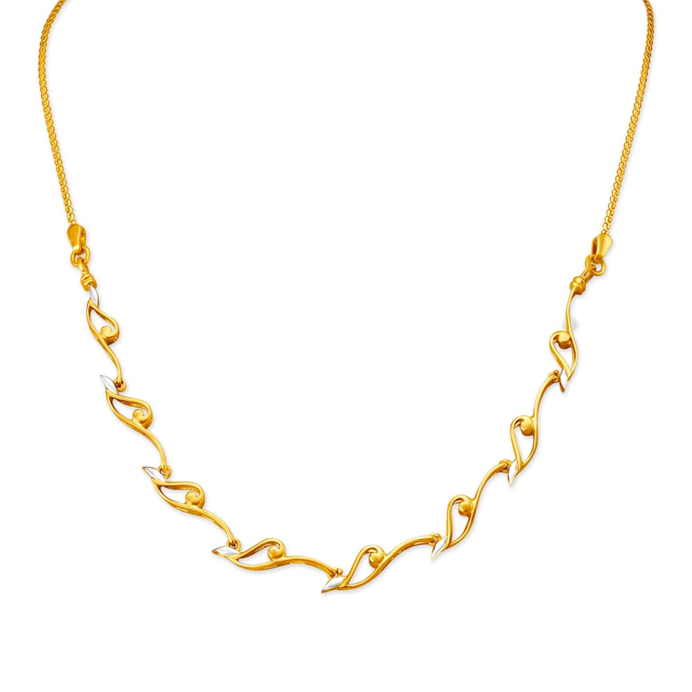 Buy Gold Necklace Set Online Latest Gold Necklace Designs For Women By Tanishq