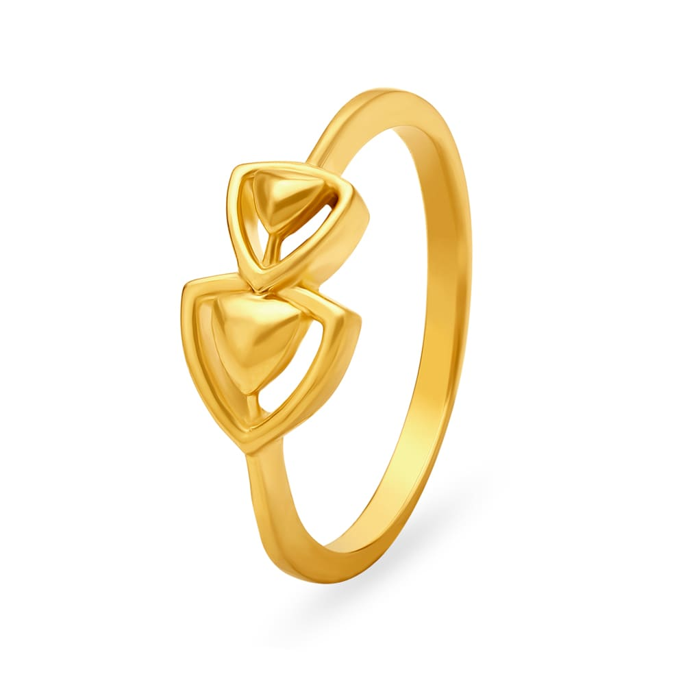 Buy Gold Diamond Finger Rings Online Gold Ring For Men Women At
