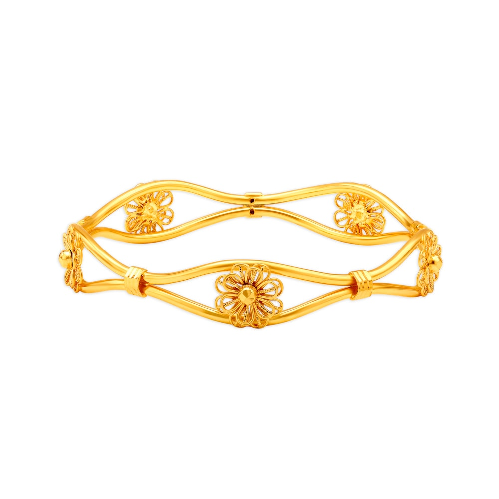 Gold Bangles Buy Gold Bangles Online In India Buy Latest