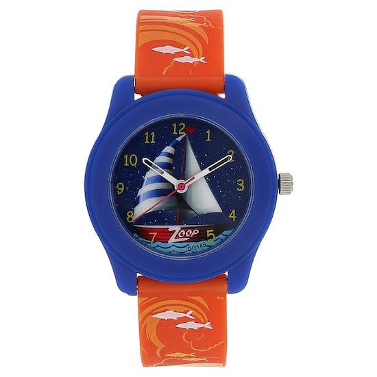 9b8c2622 Travel Blue Dial Plastic Strap