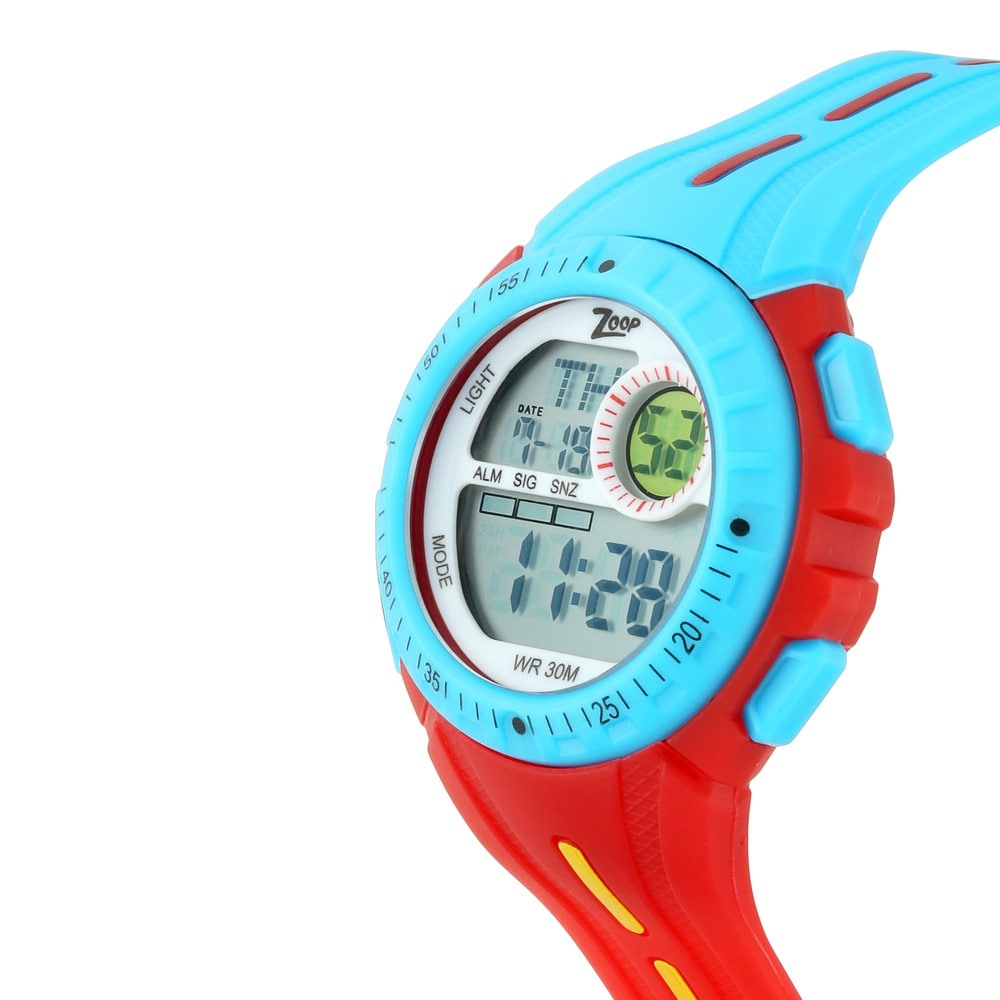 1fd98579b89 Buy Titan Grey Round Dial Polyurethane Strap Digital Watches For Kids  16007PP03 Buy Online at Best Price in India   Titan.co.in