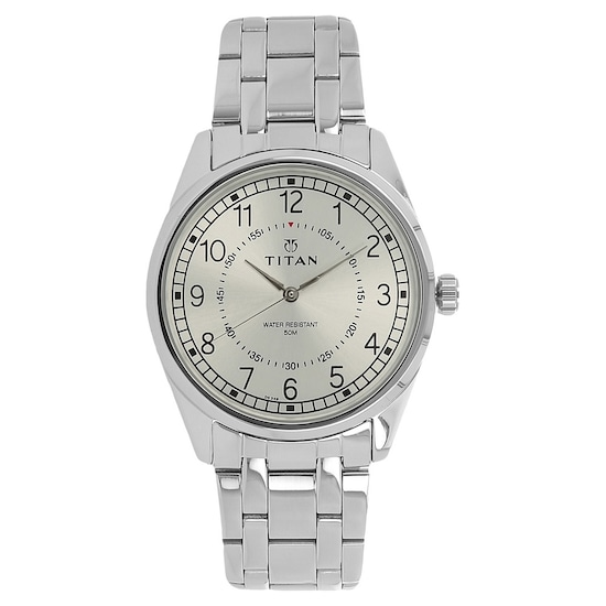 810eea67f8 HOME · MEN · Workwear; Workwear Watch with Silver Dial & Stainless Steel  Strap. Prev. 1729SM01_P ANGLEIMAGES_FULLIMAGE 1