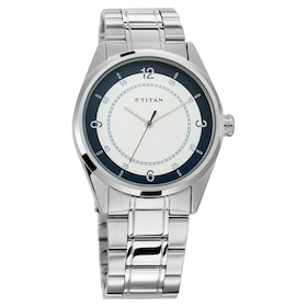 c164f0d22af83 Workwear Watch with White Dial   Stainless Steel Strap. 2595. Quick view. New  Arrival