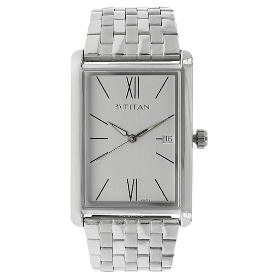 6cc1fe9fef HOME · MEN · Workwear; Workwear Watch with Silver Dial & Stainless Steel  Strap. Prev. 1731SM01_P ANGLEIMAGES_FULLIMAGE 1