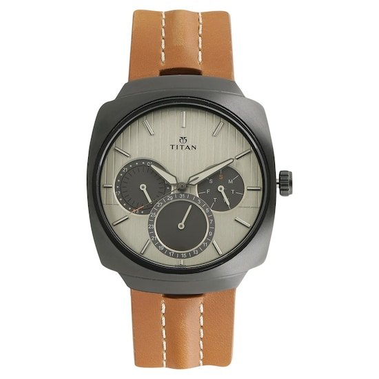 Buy Titan Green Special Dial Stainless Steel Strap Multifunction