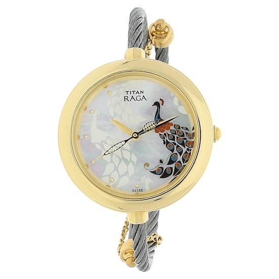 35562e2aa2224 Raga Garden of Eden White Stainless Steel Strap Watch