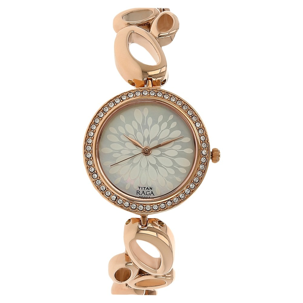 Watches Titan Raga Metal Analog Round Strap Dial Mother Of Buy Pearl WBorxdCe