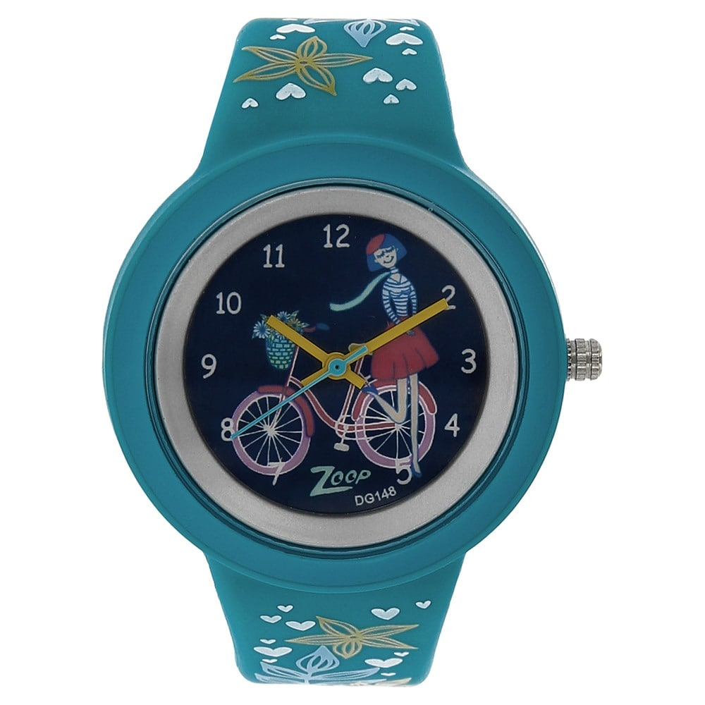 5fa1478b Buy Titan Green Round Dial Plastic Strap Analog Watches For Boys ...