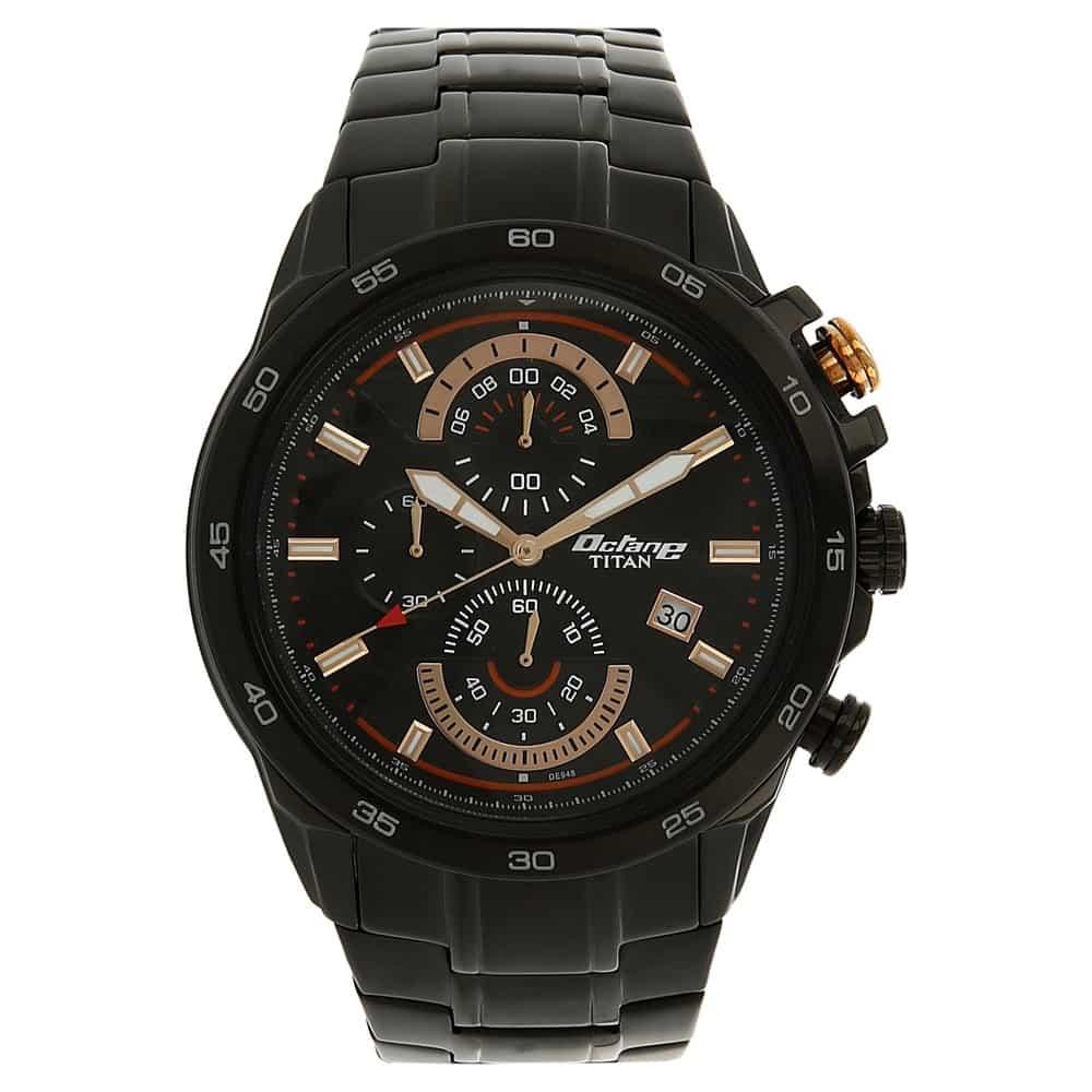 e305017dc Buy Titan Octane Blue Round Dial Chronograph Watches For Men ...