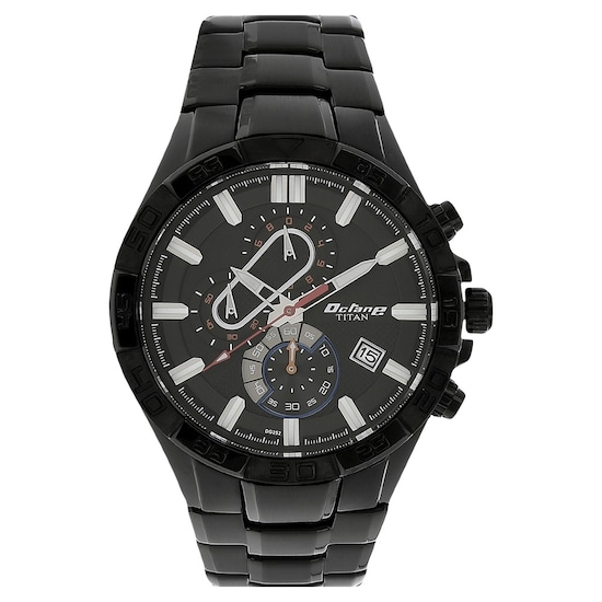 ed5ff7b29b1 ... Octane Black Dial Stainless Steel Strap Watch. Prev. 90079NM01E P  ANGLEIMAGES FULLIMAGE 1