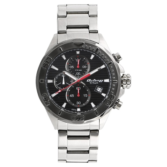 2cf2f2848f HOME · MEN · Octane; Octane Black Dial Stainless Steel Strap Watch. Prev.  90087KM02_P ANGLEIMAGES_FULLIMAGE 1