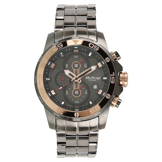 eb05a42890 HOME · MEN · Octane; Octane Black Dial Stainless Steel Strap Watch. Prev.  90088KM02J_P ANGLEIMAGES_FULLIMAGE 1