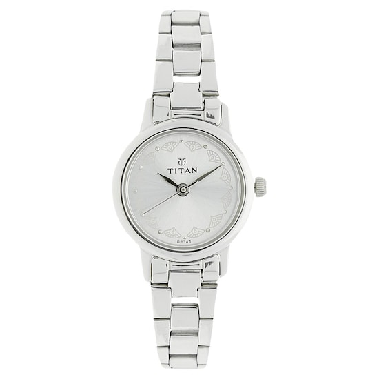 ad54bd8a Silver Dial Silver Stainless Steel Strap Watch