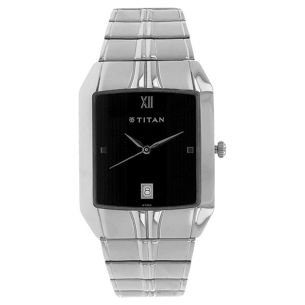 4eb1dc70903402 Buy Tommy Hilfiger Black Round Dial Metal Strap Analog Watches For ...