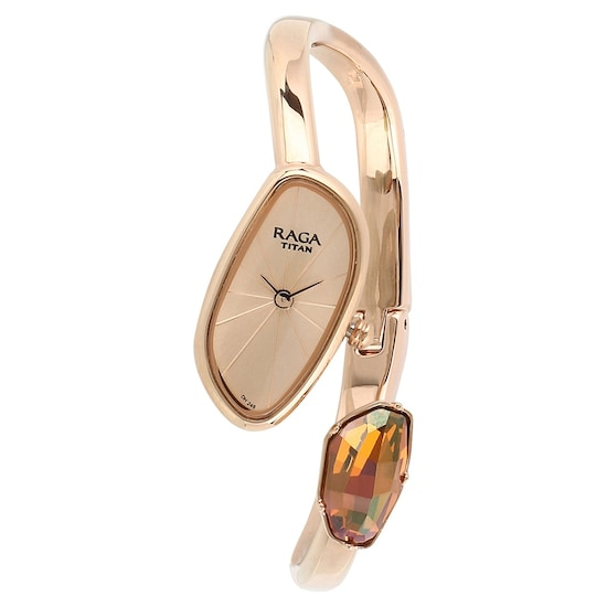 7275f5fa144 Buy Titan Raga Rose Gold Special Dial METAL Strap ANALOG Watches For Women  95055WM01 Buy Online at Best Price in India   Titan.co.in