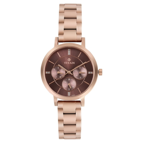 3085edac82 HOME · WOMEN · Fashion; Rose Gold Dial Stainless Steel Watch. Prev.  95087WM02_P ANGLEIMAGES_FULLIMAGE 1