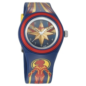 54d9826ab2a Captain Marvel Blue Dial Analog Watch with Plastic Stra... 975. Quick view