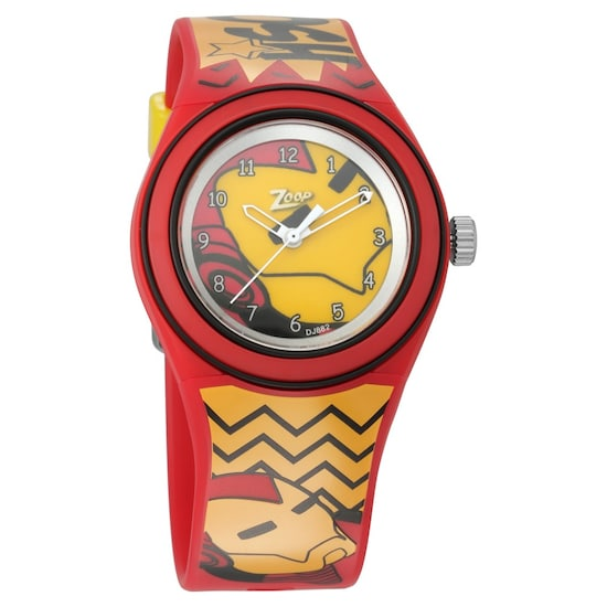 493e2b073 Buy Zoop Analog Red Round Dial PU Strap Watch for Kids-C4048PP26 Official Online  Store of Titan
