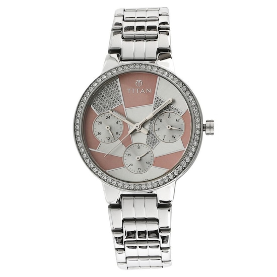 1681fcc34a HOME · WOMEN · Fashion; Whimsy Pink Dial Multifunction Watch. Prev.  NK95058SM01_P ANGLEIMAGES_FULLIMAGE 1