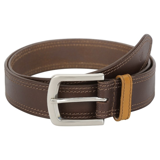 da792b36e Buy Titan Brown Genuine Leather Belt with Pin Buckle for Men Buy Online at Best  Price in India   Titan.co.in