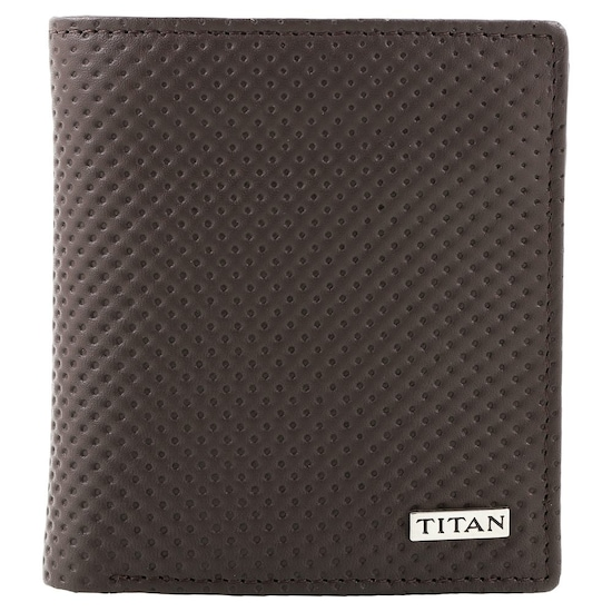 4e4199e33f Buy Titan Brown Trifold Genuine Leather Wallet for Men Buy Online at Best  Price in India : Titan.co.in | Titan
