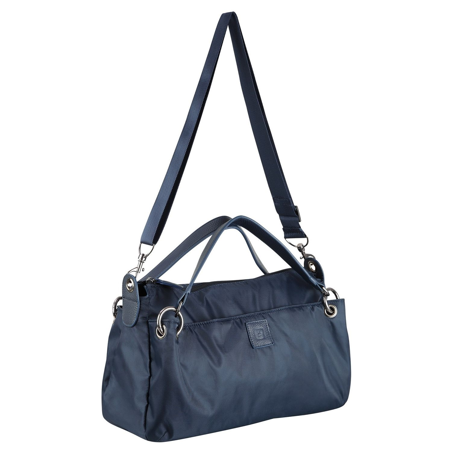 Buy Fastrack Blue Polyester Sling Bag For Women-A0331NBL01 ...