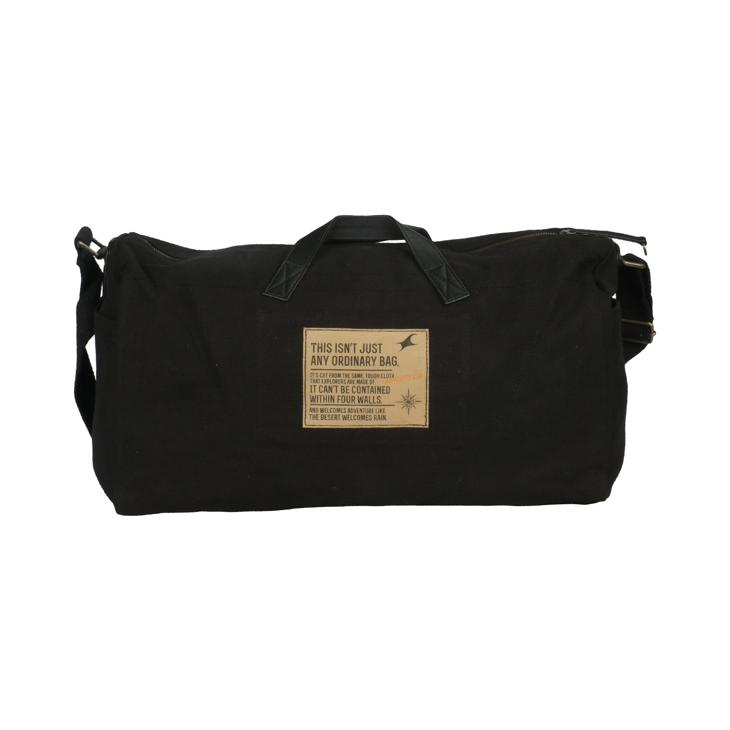 Buy Fastrack Black Canvas Messenger Bags for Men ...