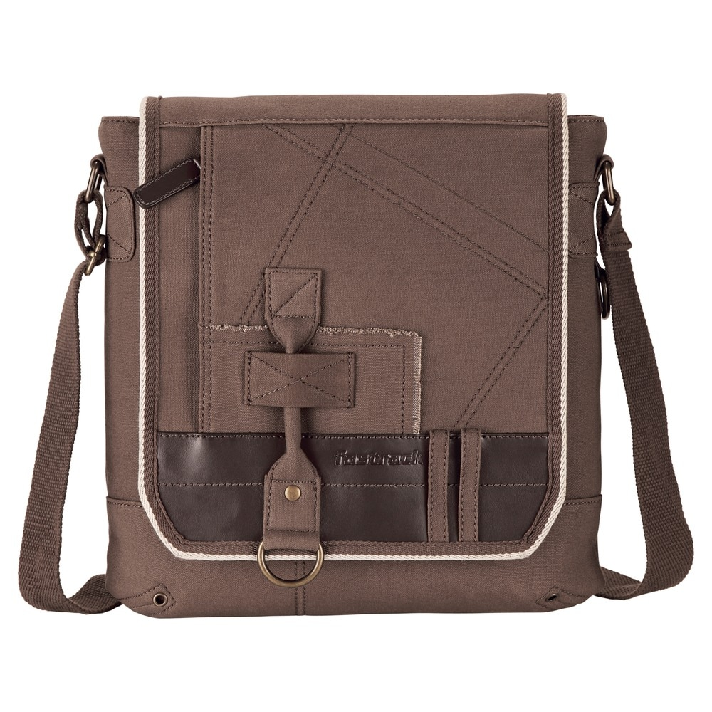 225d54a266 Buy Fastrack Canvas Brown Sling Bag for Men A0420CBR01 At Best Price Online  India   Titan