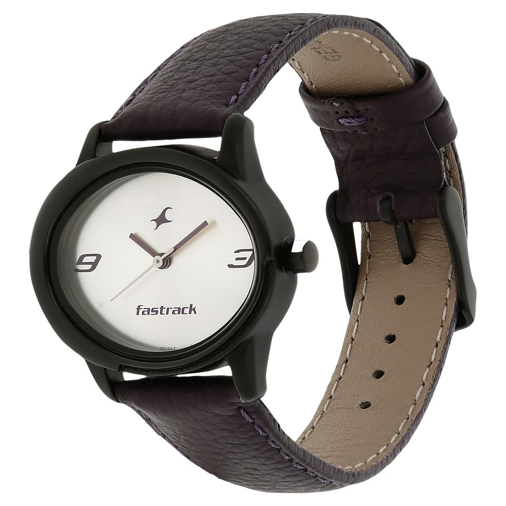 Buy Fastrack Silver Dial Watch For Women-6098NL01 At Best Price Online India  Titan